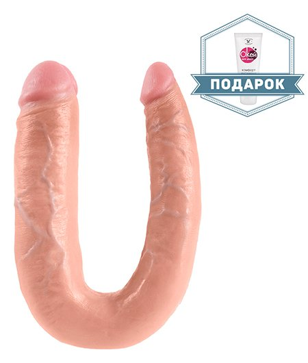 Фаллоимитатор Pipedream King Cock Large Double Trouble 7""